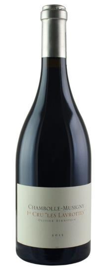2015 Olivier Bernstein 2 bottles each: Champeaux, Cazetiers, Lavrottes