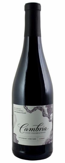 2014 Cambria Syrah Tepusquet Vineyard