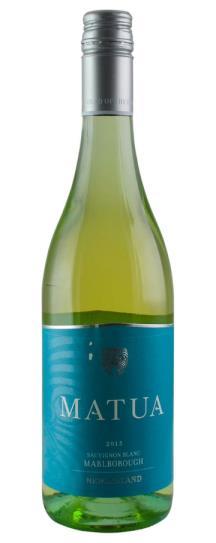 2015 Matua Sauvignon Blanc