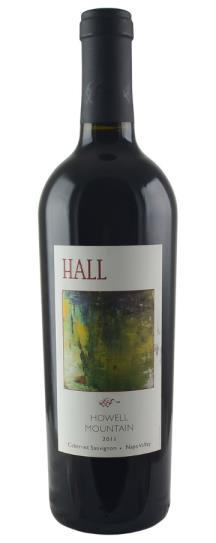 2011 Hall Cabernet Sauvignon Howell Mountain
