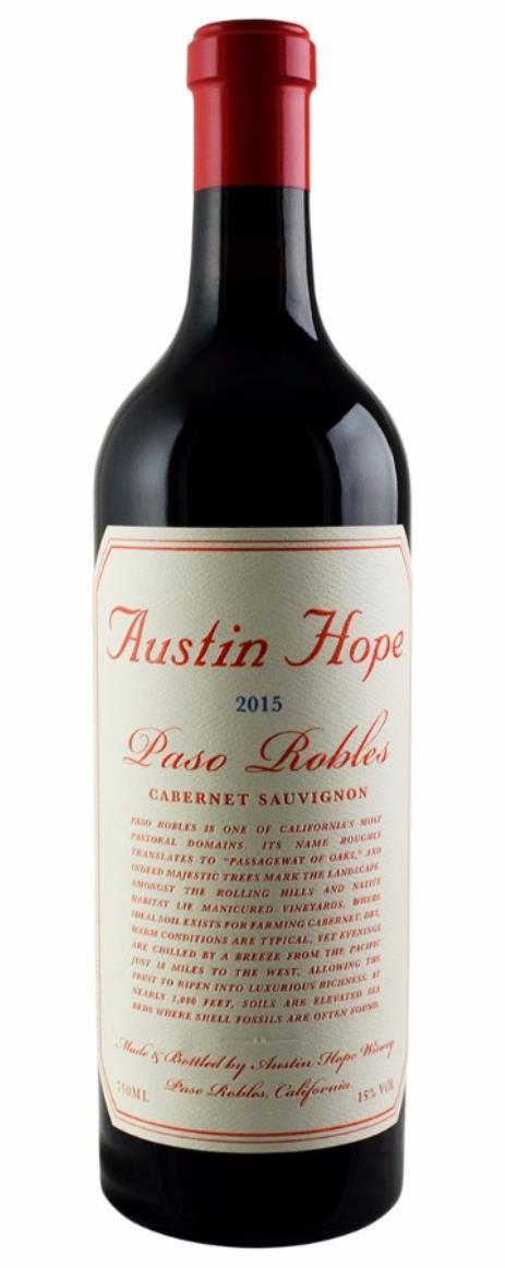 Buy 2015 Austin Hope Cabernet Sauvignon 750ml Online