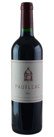 2012 Pauillac de Chateau Latour Bordeaux Blend