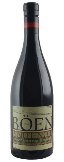 2019 Boen Pinot Noir Russian River Valley