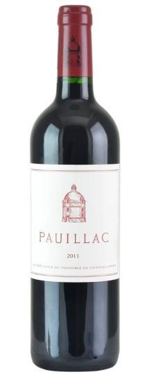 2011 Pauillac de Chateau Latour Bordeaux Blend