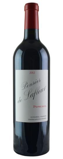 2017 Les Pensees de Lafleur Bordeaux Blend