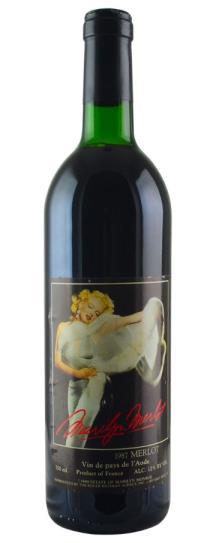 1987 Marilyn Merlot Merlot Vin de pays de l'Aude