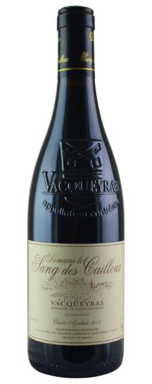 2003 Domaine le Sang des Cailloux Vacqueyras
