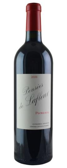 2008 Les Pensees de Lafleur Bordeaux Blend