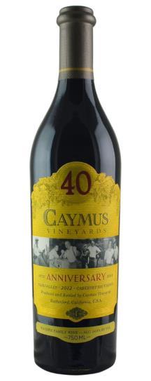 2012 Caymus Cabernet Sauvignon 40th Anniversary