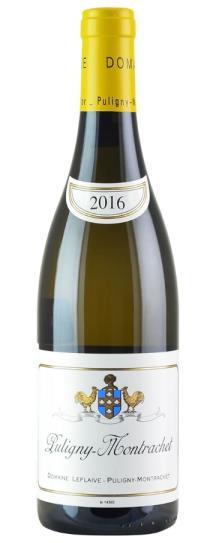 2016 Domaine Leflaive Puligny Montrachet