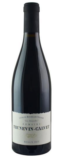 2015 Domaine Thunevin-Calvet Vin de Pays d'Oc Les Dentelles