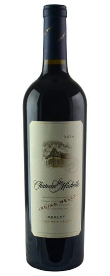 2014 Chateau Ste Michelle Merlot Indian Wells Vineyard