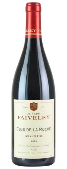 2016 Domaine Faiveley Clos de la Roche