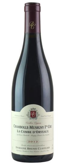 2016 Domaine Bruno Clavelier Chambolle Musigny la Combe d'Orveaux Vieilles Vignes
