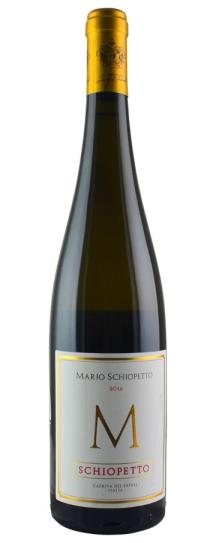 2016 Schiopetto Collio M