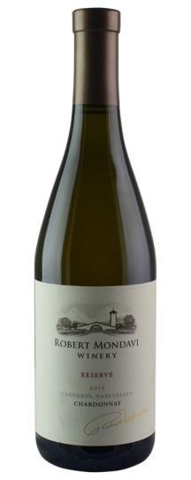 2013 Robert Mondavi Winery Chardonnay Reserve