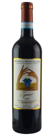 2014 Il Marroneto Rosso di Montalcino