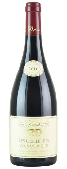 2016 Domaine de la Pousse d'Or Volnay En Caillerets Cuvée Amphore