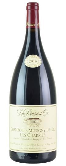 2016 Domaine de la Pousse d'Or Chambolle Musigny Les Charmes