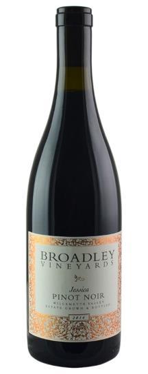 2014 Broadley Pinot Noir Jessica