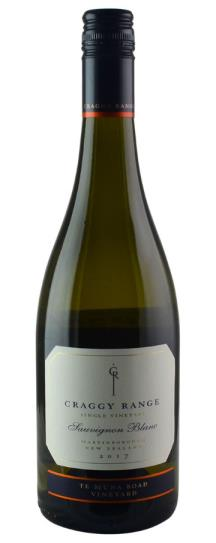 2017 Craggy Range Sauvignon Blanc Te Muna Road Vineyard