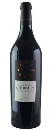 2014 Clos les Lunelles Bordeaux Blend