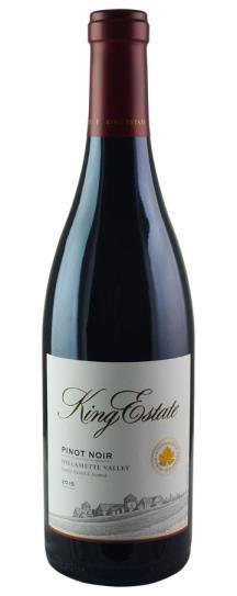 2015 King Estate Oregon Pinot Noir