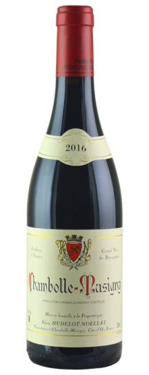 2016 Domaine Hudelot-Noellat Chambolle Musigny