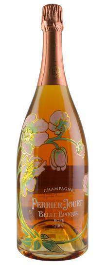2007 Perrier Jouet Fleur de Champagne Rose Brut Cuvee Belle Epoque