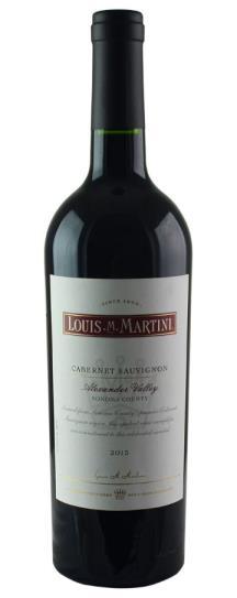2015 Louis Martini Cabernet Sauvignon Alexander Valley