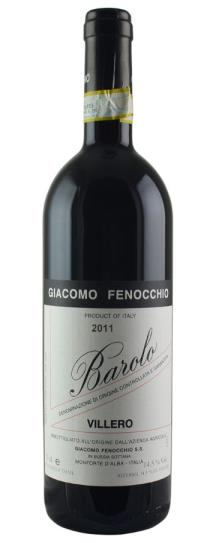 2011 Giacomo Fenocchio Barolo Villero