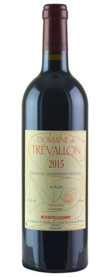 2015 Trevallon, Domaine de IGP des Alpilles Rouge