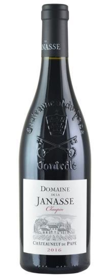 2018 Domaine de la Janasse Chateauneuf du Pape Cuvee Chaupin