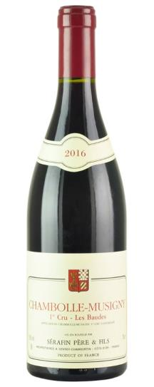 2016 Domaine Christian Serafin Chambolle Musigny les Baudes