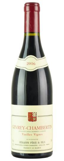 2016 Domaine Christian Serafin Gevrey Chambertin Vieilles Vignes