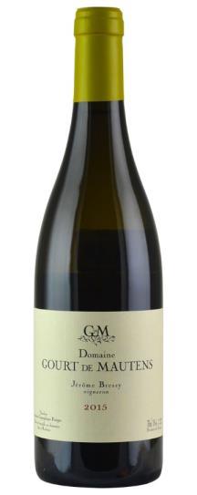 2015 Gourt de Mautens (Jerome Bressy) IGP Vaucluse Blanc