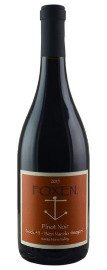 2015 Foxen Block 43 Bien Nacido Vineyard Pinot Noir