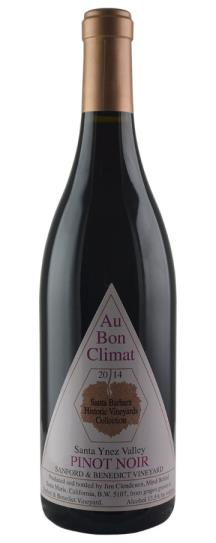 2014 Au Bon Climat Pinot Noir Sanford and Benedict Vineyard