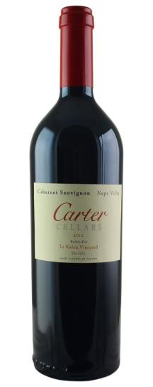2012 Carter Cellars Cabernet Sauvignon Beckstoffer To Kalon The O.G.