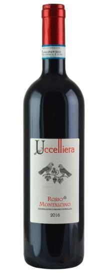 2016 Az Agr Uccelliera Rosso di Montalcino