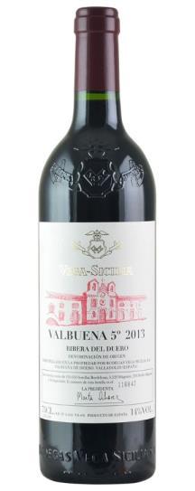 2013 Vega Sicilia Valbuena 5 Year Old Tinto