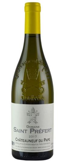 2017 Domaine de Saint-Prefert Chateauneuf du Pape Blanc