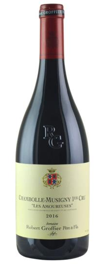 2016 Domaine Robert Groffier Chambolle Musigny les Amoureuses
