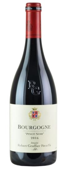 2016 Domaine Robert Groffier Bourgogne