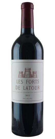 2012 Les Forts de Latour 2018 Ex-Chateau Release