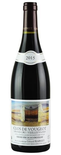 2016 Domaine Gerard Raphet Clos Vougeot Vieilles Vignes