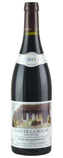 2015 Raphet, Domaine Gerard Clos de la Roche Grand Cru