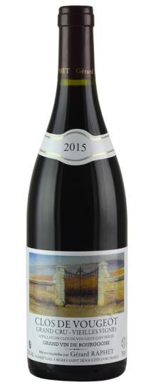 2015 Domaine Gerard Raphet Clos Vougeot Vieilles Vignes