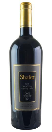2015 Shafer Vineyards Cabernet Sauvignon One Point Five