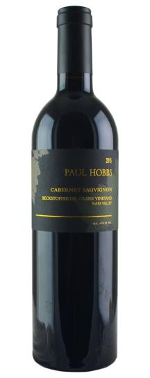 2015 Paul Hobbs Cabernet Sauvignon Beckstoffer Dr Crane Vineyard